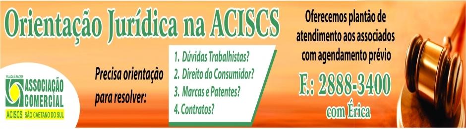 Orientação Jurídica na ACISCS